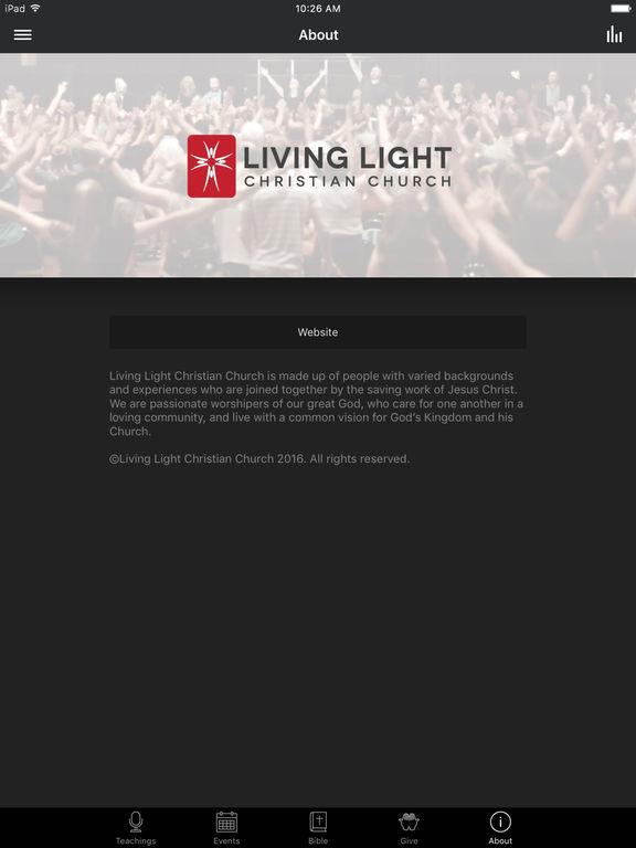 Living Light Christian Church screenshot 6
