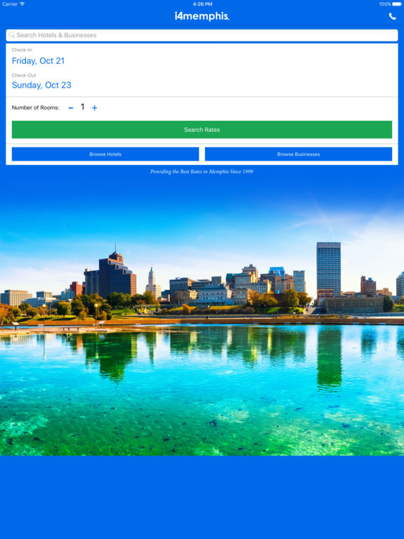 i4memphis - Memphis Hotels, Yellow Pages Directory screenshot 6