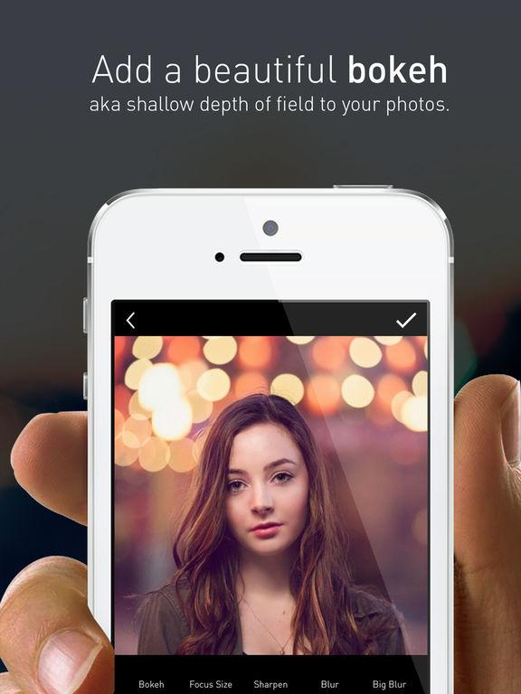 Portrait Mode Pro — Lens Blur and Bokeh editor screenshot 7