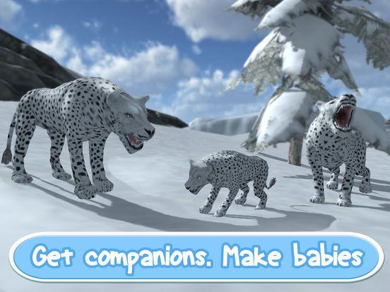 Wild Snow Leopard: Animal Simulator Full screenshot 7