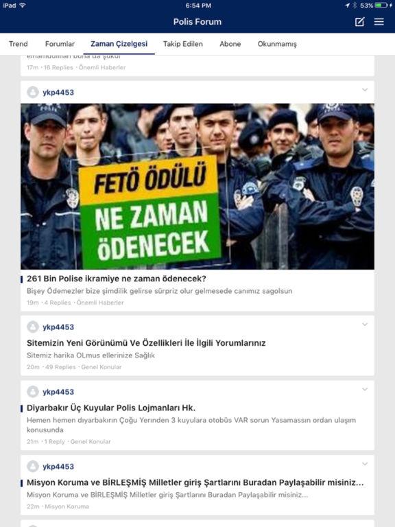 Polis Forum screenshot 4