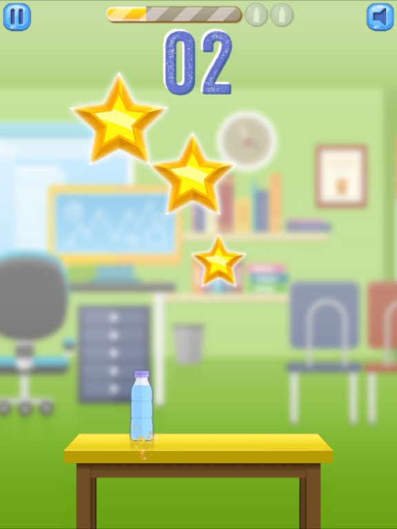 Bottle Flip Challenge (ad free) screenshot 10