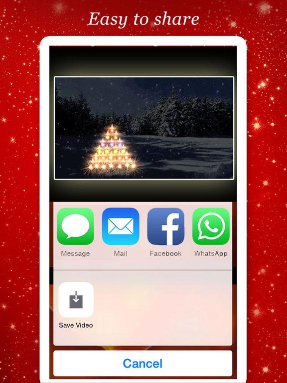 Merry Christmas Greeting Video screenshot 7