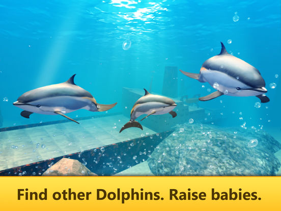 Ocean Dolphin Simulator: Animal Quest 3D screenshot 8