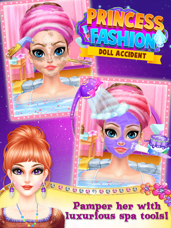 Princess Fashion Doll Accident screenshot 7