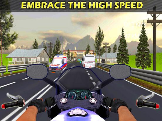 Traffic Moto Rider : Heavy Bike Racer screenshot 9