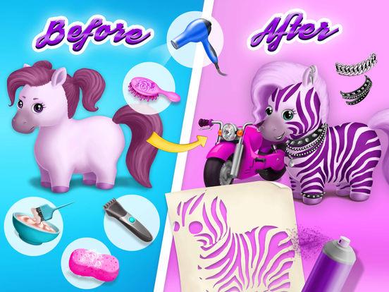 Pony Sisters Hair Salon 2 - No Ads screenshot 7