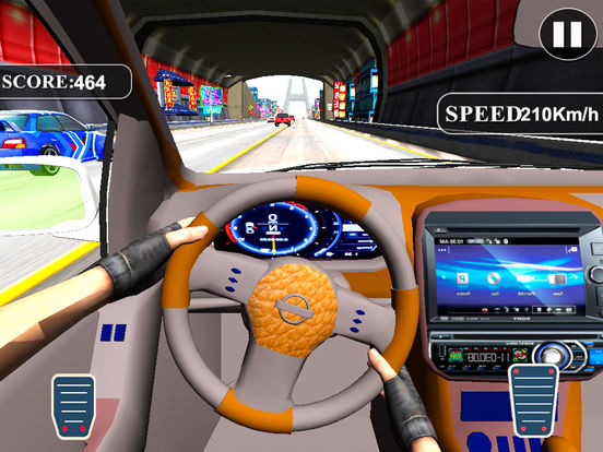 Asphalt City Traffic: 3D Turbo Most Wanted Race screenshot 8