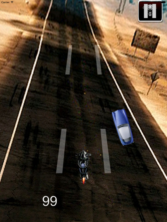 A Race Motorcycle Driver - Awesome Highway Rider Game screenshot 7