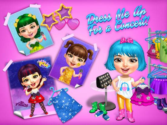 Sweet Baby Girl Pop Stars screenshot 8