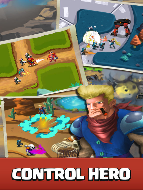 Castle Strategy TD - Defense Ancient Galaxy Hero screenshot 5