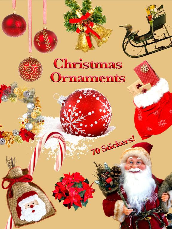Christmas Ornaments • Stickers screenshot 6