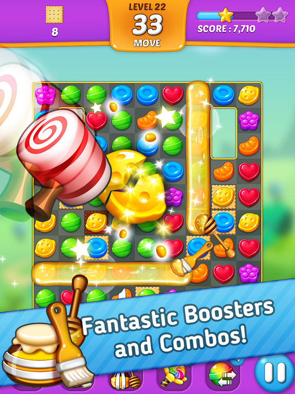 Lollipop: Sweet Taste Match3 screenshot 9