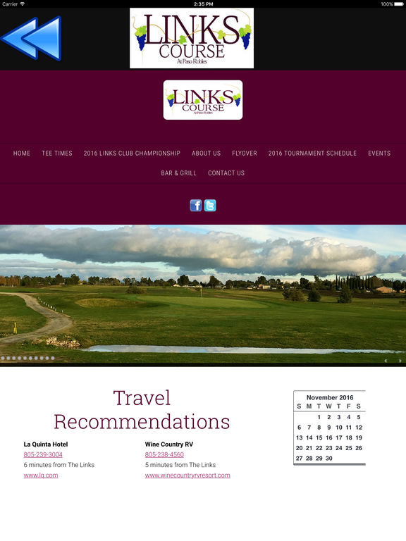 The Links Golf Course at Paso Robles Mobile App screenshot 6