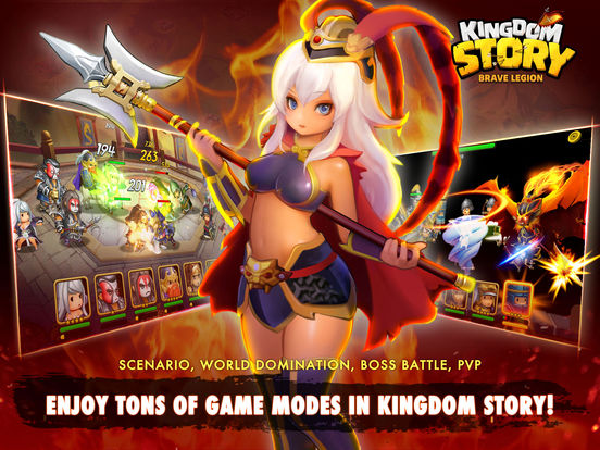 Kingdom Story: Brave Legion screenshot 6