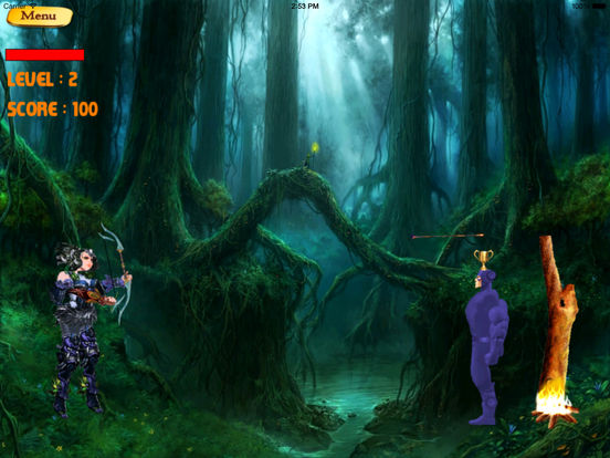 Archer Girl Revenge Deluxe Pro - In The Shot Game screenshot 10
