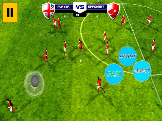 Football Ultimate Real soccer : Hero-es all-stars screenshot 8