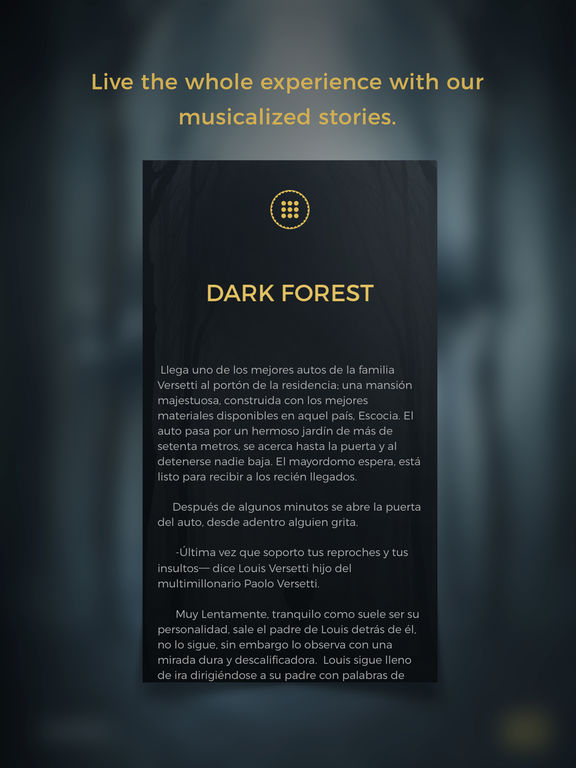 Dark Forest - HORROR GameBook screenshot 8