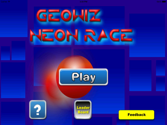 A Geowiz Neon Race - Wins The Jump Match Adventure screenshot 6