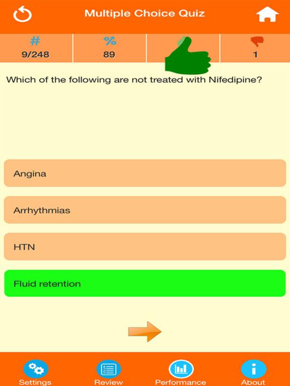 Medical Science : Pharmacology Quiz screenshot 7