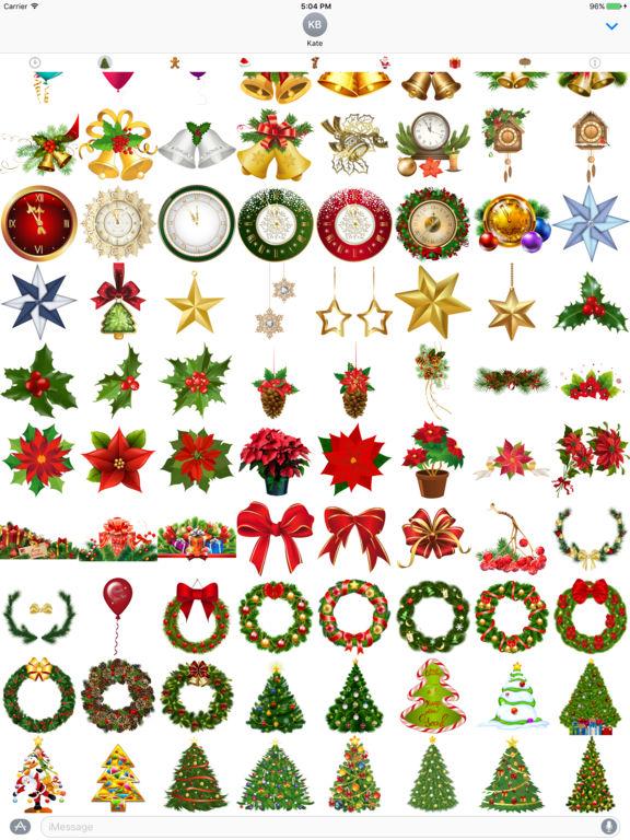 400+ Christmas Stickers screenshot 7