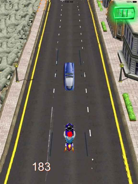 A City Guardian Motorcycle PRO - Chase Scanner Game screenshot 8