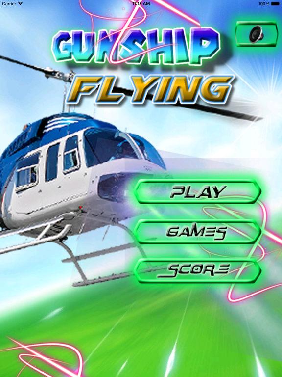 A Gunship Flying PRO - A Over the city War Game screenshot 6