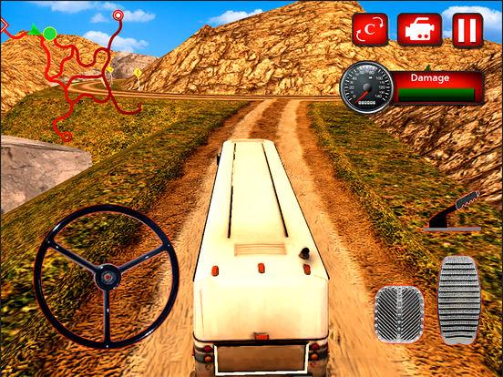 Offroad Hill Tourist Bus Drive screenshot 6