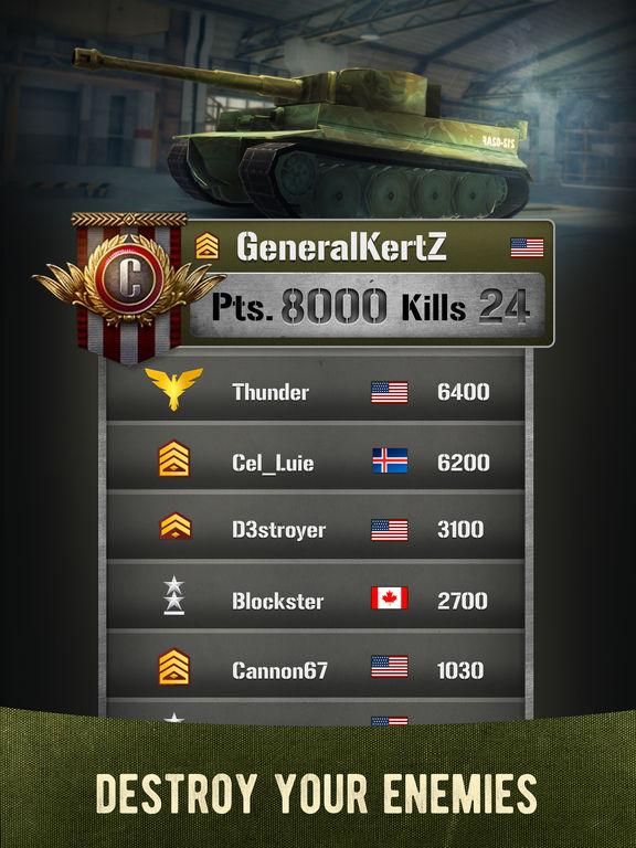 War Machines: Tank Games screenshot 10