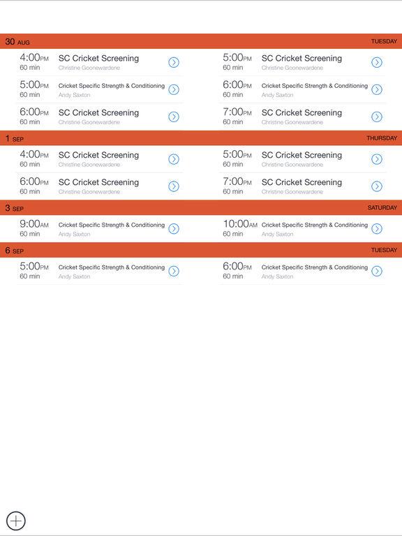 Sthrn Cricket Net Bookings screenshot 2