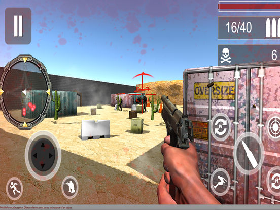 Frontier Counter Shot : 3D Kill-er Assassin Game screenshot 4