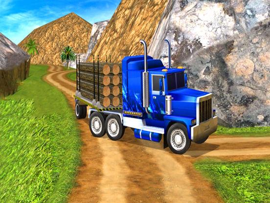Real Truck Cargo Drive : 3D Tractor Sim-ulator screenshot 4