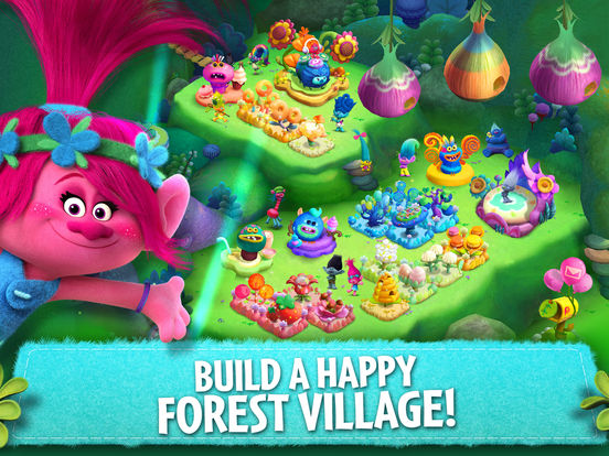 Trolls: Crazy Party Forest! screenshot 6