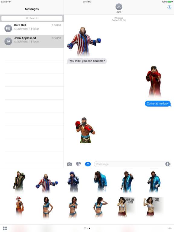 Real Boxing 2 Stickers screenshot 5