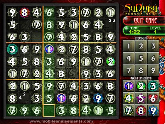 Sudoku Dragon Gems screenshot 7