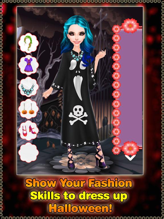 Halloween Monster Girl DressUp screenshot 7
