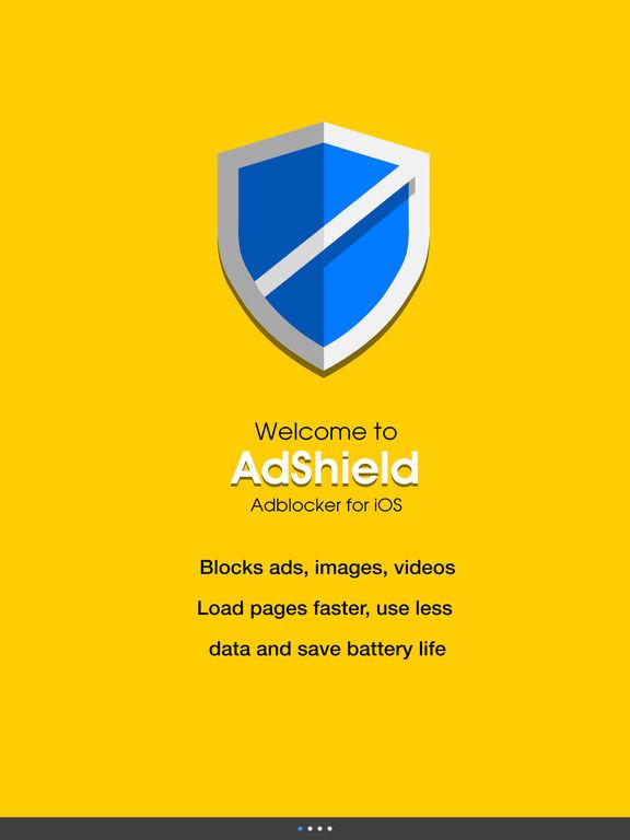 AdShield - Adblock Plus Battery Saver & Ads Filter screenshot 4