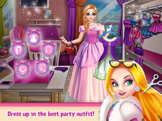 Princess Doll Hair Style screenshot 10