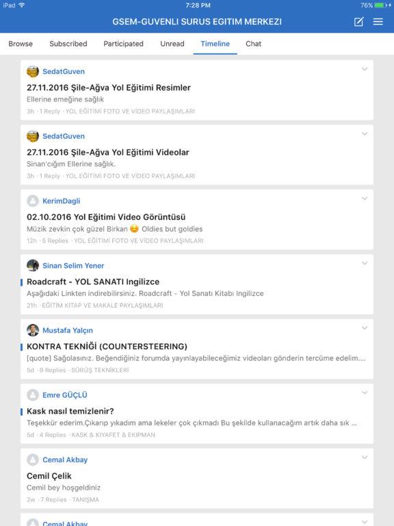 GSEM - GUVENLI SURUS EGITIM MERKEZI screenshot 5