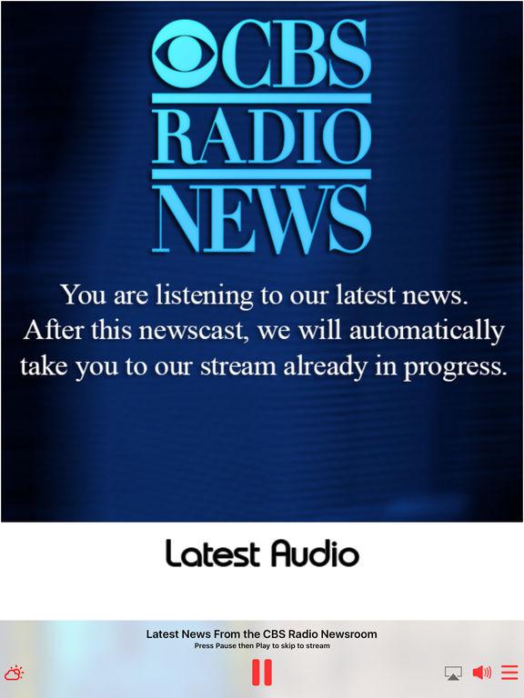 CBS Radio News screenshot 8