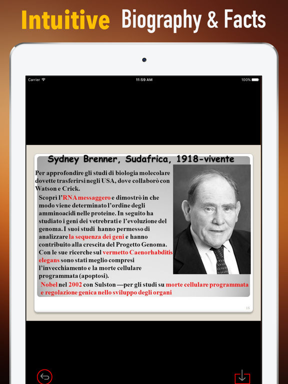 Biography and Quotes for Sydney Brenner-Life screenshot 6
