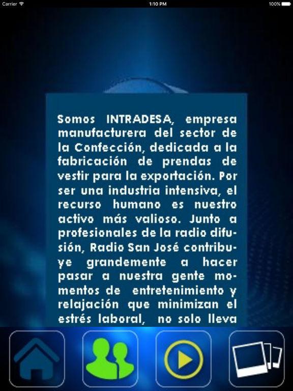 Intradesa-radio screenshot 7