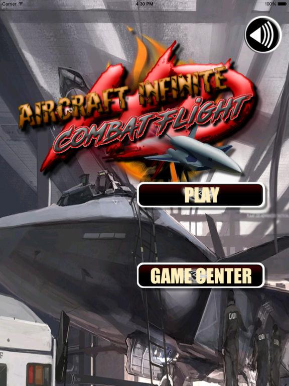 Aircraft Infinite Combat Flight HD - Simulator screenshot 6