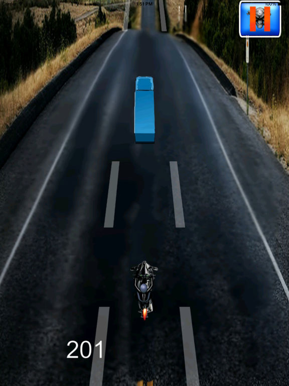 A Motorbike Highway In Speed - Powerful High Race Driving screenshot 7