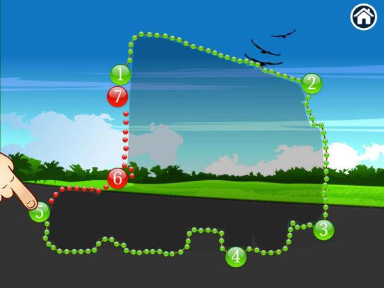 Trucks - Connect Dots for preschoolers screenshot 8