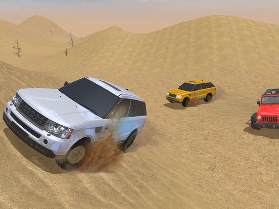 4X4 Offroad Jeep desert Safari - Driving 3D Sim screenshot #1