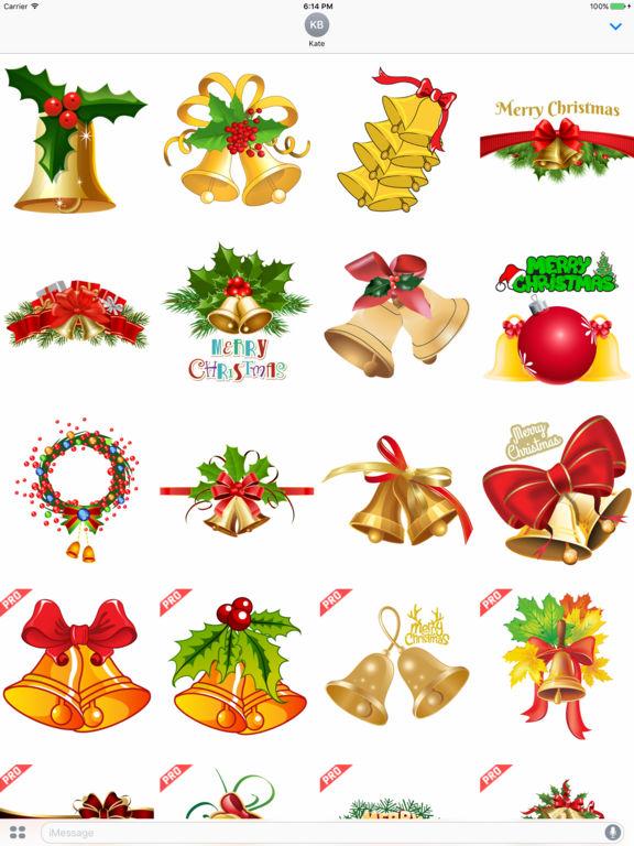 Christmas Jingle Bells Stickers screenshot 4