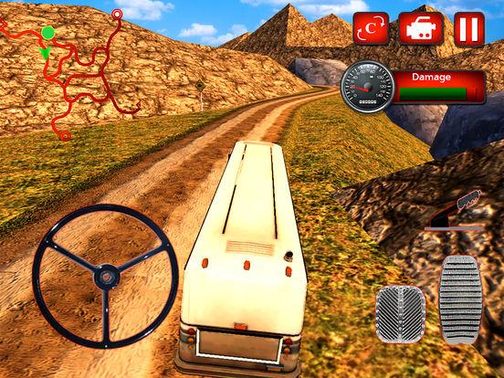 Offroad Hill Tourist Bus Drive screenshot 4