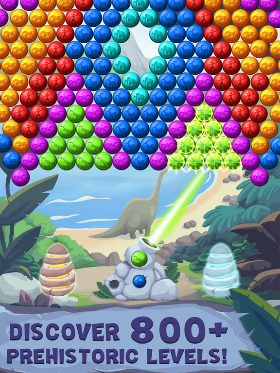 Jurassic Bubble Shooter screenshot 7