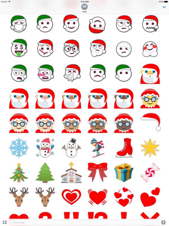 Christmas Emoji • Stickers screenshot 7